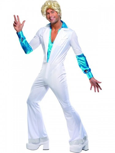 Disco Man 70's Adult Costume (Example Photo)