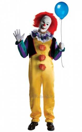 Pennywise Deluxe Costume  (Example Photo)