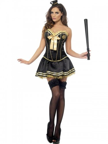 Cop Fever Boutique Adult Costume - last chance (Example Photo)