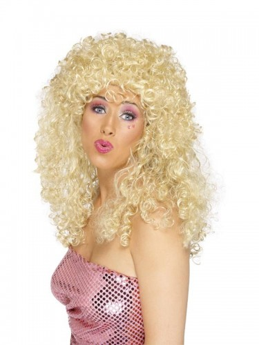 Boogie Babe Wig Blonde (Example Photo)