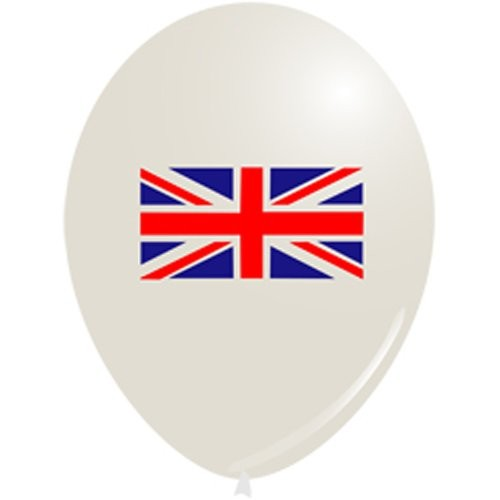 Sold Out - Union Jack Balloons  (Example Photo)