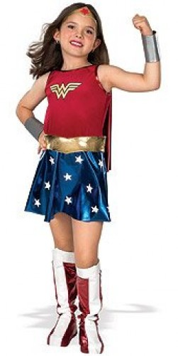 Wonder Woman Deluxe | Child Size (Example Photo)