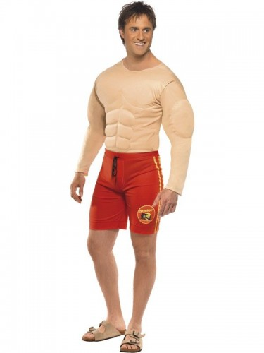 Baywatch Lifeguard Adult Mens Costume (Example Photo)