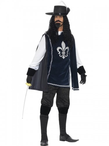 Musketeer Male Costume (Example Photo)