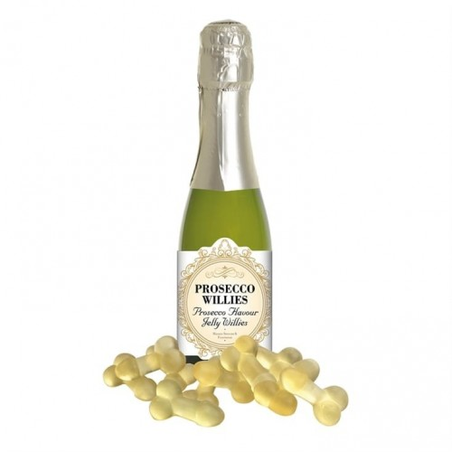 Prosecco flavoured Jelly Willies (Example Photo)