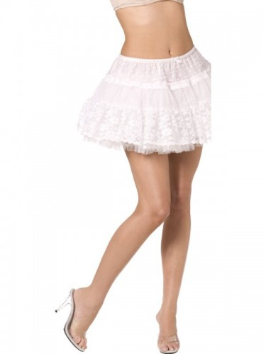 Lace Petticoat White Fever Boutique  (Example Photo)