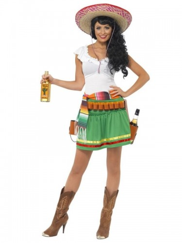 Tequila Shooter Girl Costume (Example Photo)