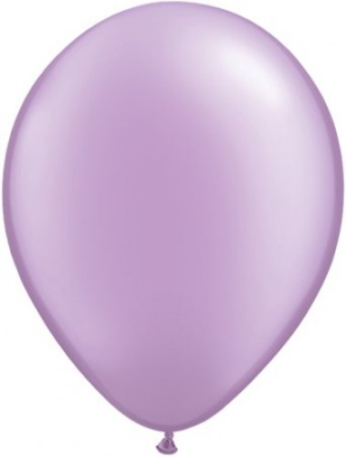 Pearl Lavender helium filled latex balloon (Example Photo)