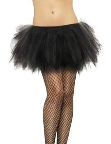 Tutu Frilly Black (Example Photo)
