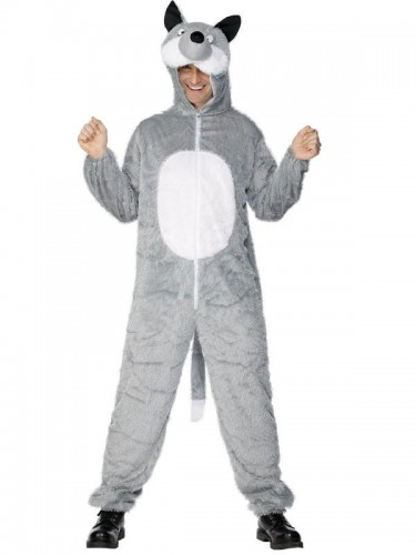 Wolf Adult Costume (Example Photo)