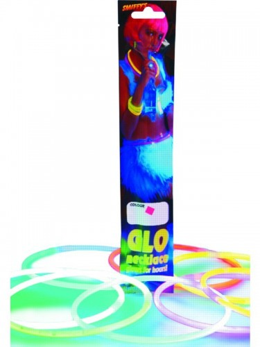 Light Stick Necklace Glow-In-The-Dark (Example Photo)