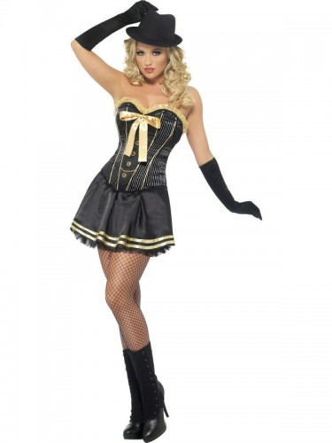 Gangster Fever Boutique Adult Costume (Example Photo)