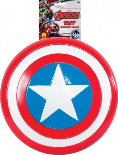 Official Child's Marvel Avengers Assemble 12 Captain America Shield  (Example Photo)