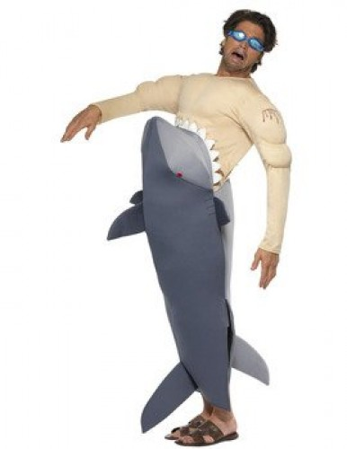 Man Eating Shark Costume (Example Photo)