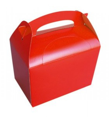 Party Boxes | Red Party Box (Example Photo)