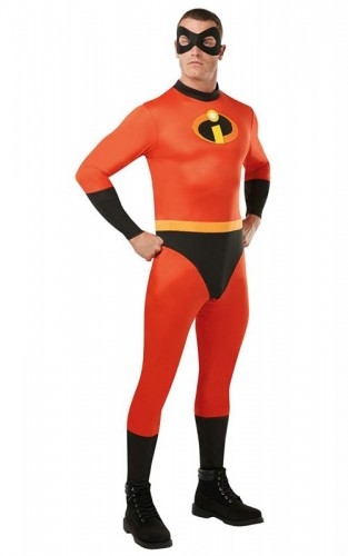 Official Disney 2, Mr Incredible Adult Classic Costume (Example Photo)
