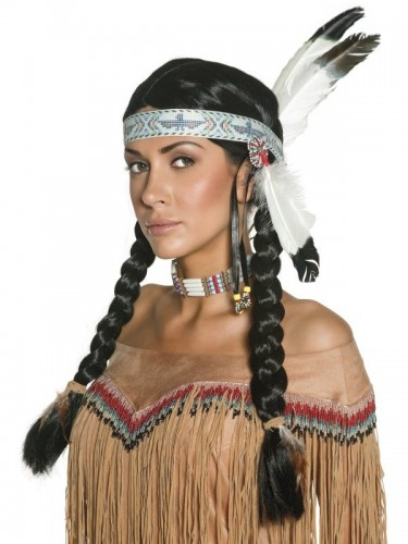Indian Wig Authentic Western (Example Photo)