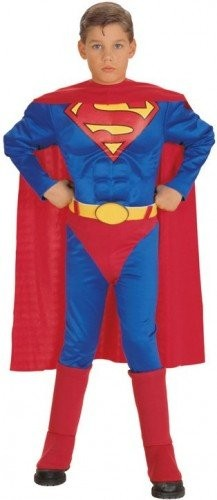 Superman Child Costmue  (Example Photo)