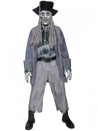 Zombie Ghost Pirate Adult Men's Costume (Example Photo)
