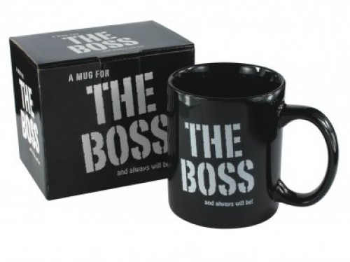 Mug -The Boss (Example Photo)