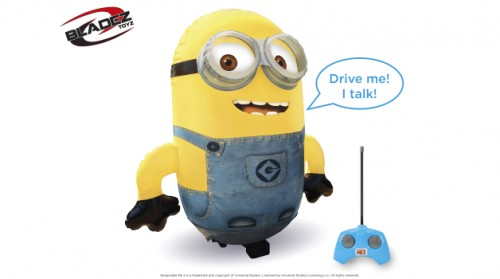 Despicable Me - Radio Control Jumbo Inflatable Minion  (Example Photo)