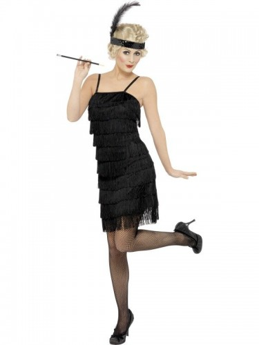 Fringe Flapper Adult Costume (Example Photo)