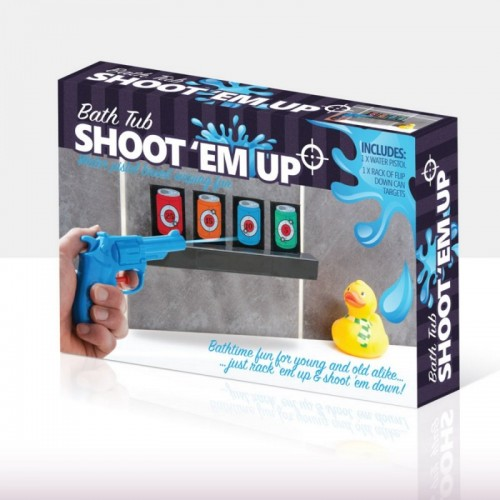 Bath Tub Shoot 'em Up (Example Photo)