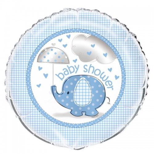 Foil Balloon Baby Shower - Blue or Pink (Example Photo)