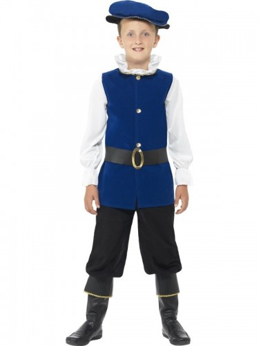 Tudor Boy Child Costume (Example Photo)
