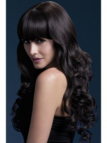 Fever Isabelle Wig, Long Brown Wig (Example Photo)