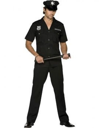 Cop Male Fever Adult Costume (Example Photo)