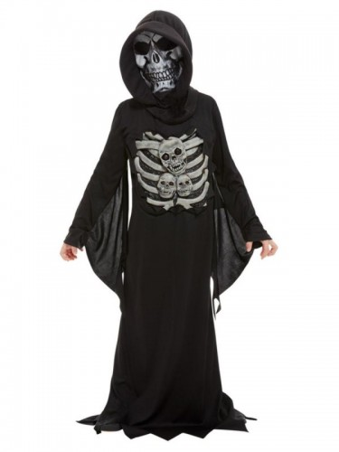 Skeleton Reaper Costume  (Example Photo)