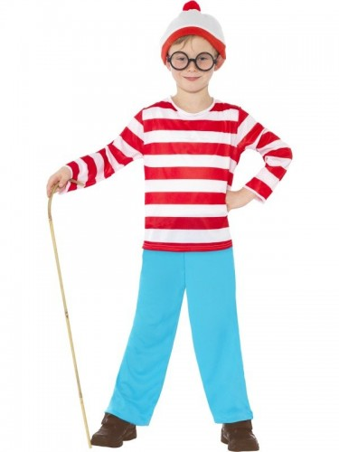Where's Wally Child Costume (Example Photo)