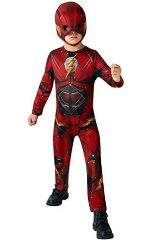 The Flash, Children Costume Official DC Justice League (Example Photo)