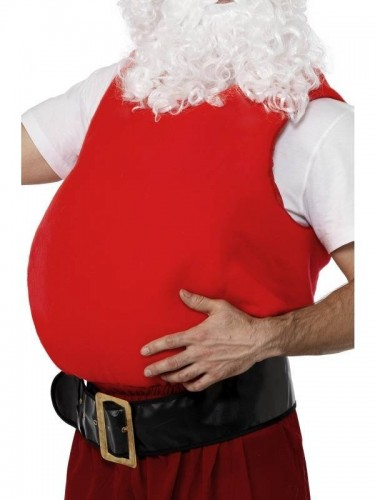 Santa Belly Stuffer (Example Photo)