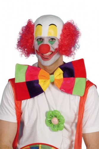 Clown Head Rubber with Hair (Example Photo)