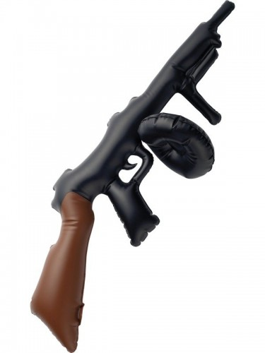 Inflatable Tommy Gun - Awaiting Stock (Example Photo)