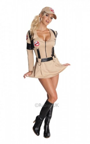 Ghostbusters Woman Costume (Example Photo)