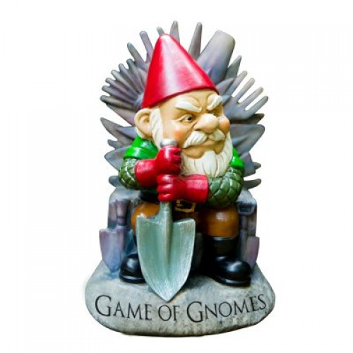 Game of Gnomes Garden Gnome (Example Photo)