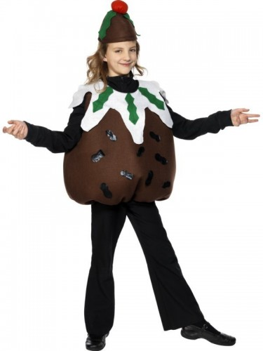 Christmas Pudding Child Costume - Sold Out (Example Photo)