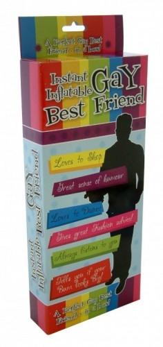 Gay Best Friend Instant Inflatable (Example Photo)