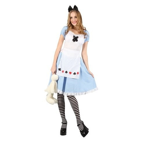 Adorable Alice Adult Costume (Example Photo)