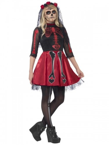 Day Of The Dead Diva (Teen)  (Example Photo)