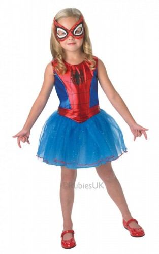 Child Spider-Girl Child Costume  (Example Photo)