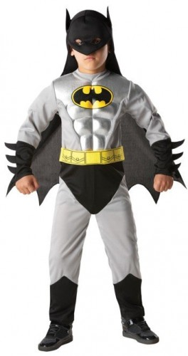 Batman Total Armour Child Costume (Example Photo)