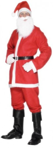 Budget Santa Suit (Example Photo)