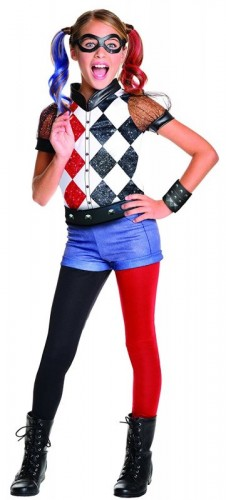 DC Harley Quinn Costume, Child (Example Photo)