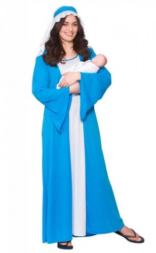 Mary Adult Costume (Example Photo)