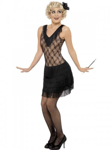 All That Jazz Flapper Adult Costume (Example Photo)