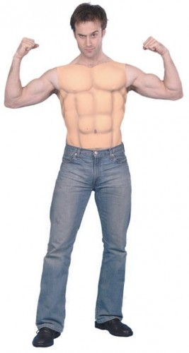 Male Muscle Chest (Example Photo)